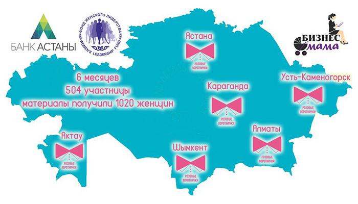 Карта Розовые воротнички