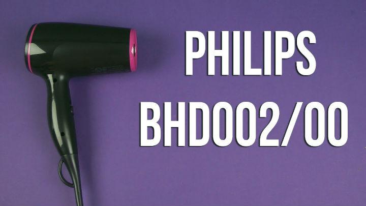 Фен PHILIPS BHD002